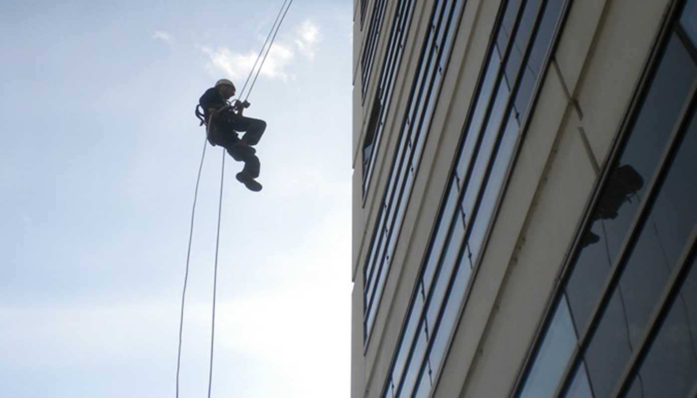 Rope Access- Industrieel klimwerk